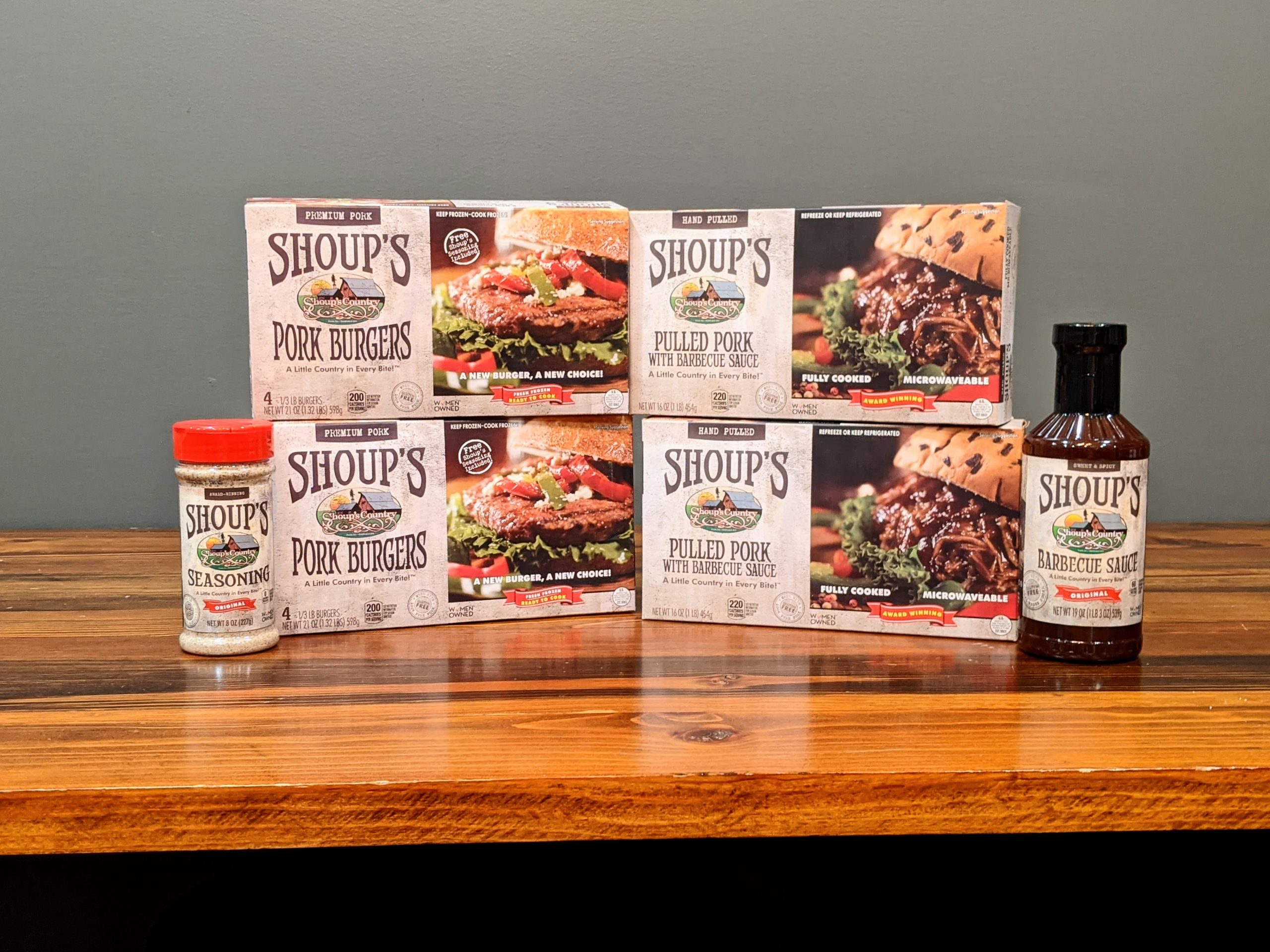 Shoup's Special Meat Combo with Sauce and Seasoning